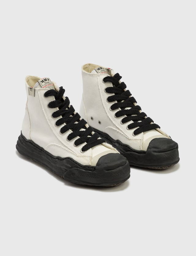 Maison Mihara Yasuhiro Original Sole Toe Cap Canvas Sneaker