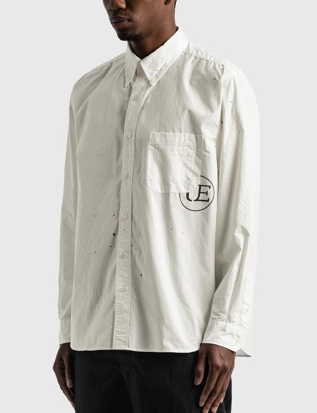 uniform experiment Dripping Big B.D. Shirt White Men