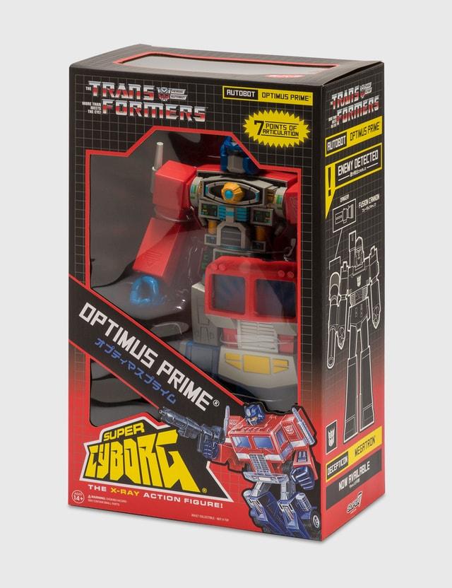 Super 7 Transformers Super Cyborg – Optimus Prime (G1) N/a Life