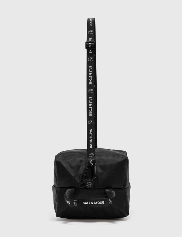 SALT & STONE SALT & STONE x Brain Dead Dopp Kit Bag Black Unisex