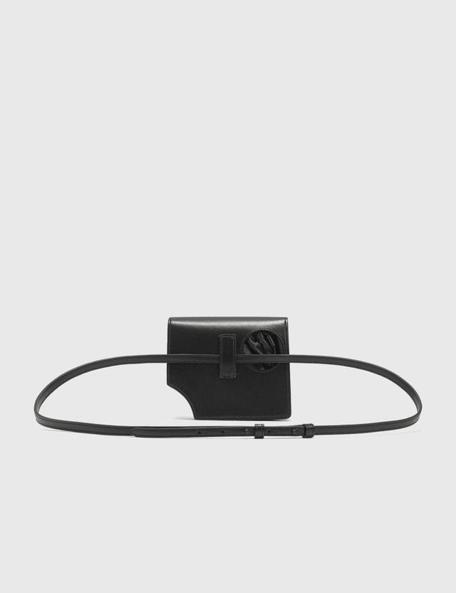 Off-White Hole-Detail Jitney 0.7 크로스바디 백 Black No Color Women