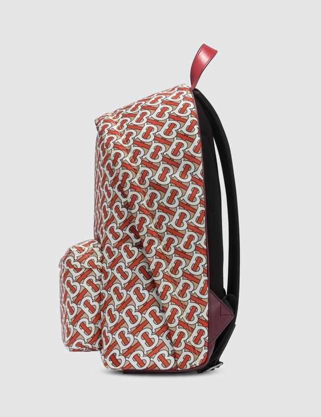 Burberry Monogram Nylon Backpack