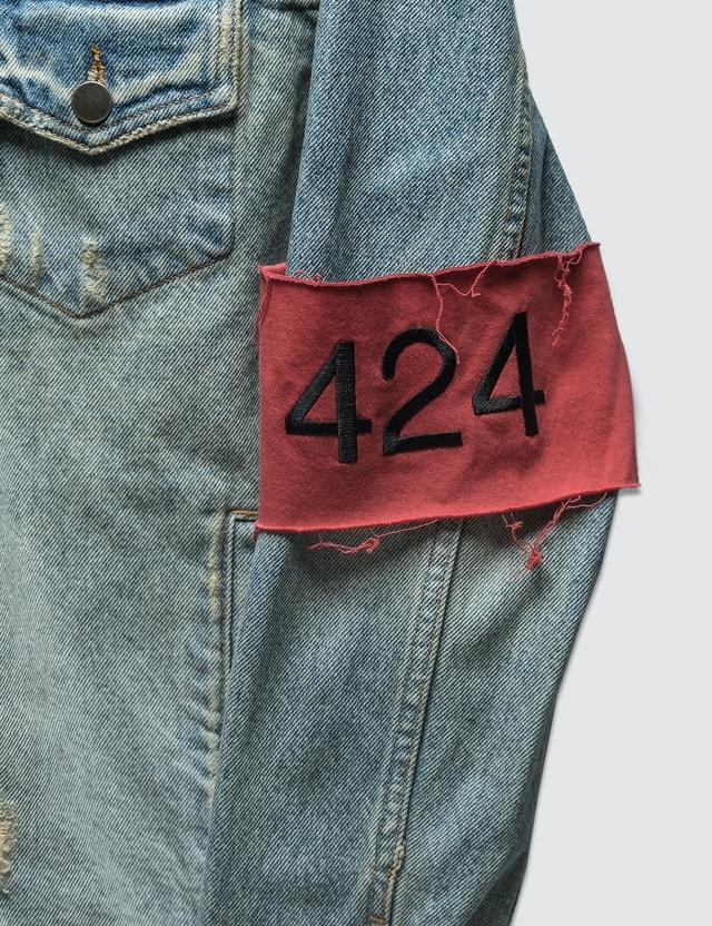 424 Distressed Denim Jakcet