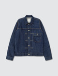 Visvim One Wash Indigo Jacket Picutre