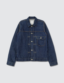 Visvim One Wash Indigo Jacket