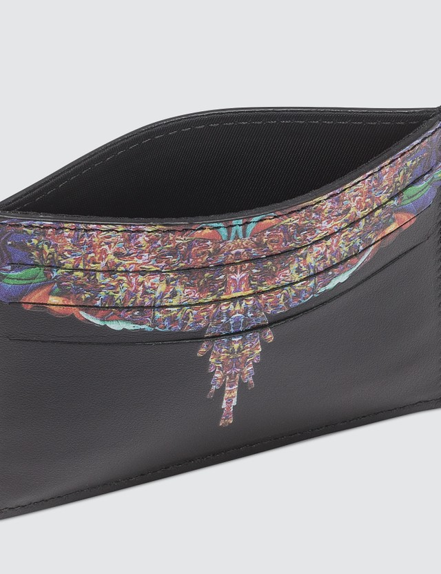 Marcelo Burlon Multicolor Wings Card Holder