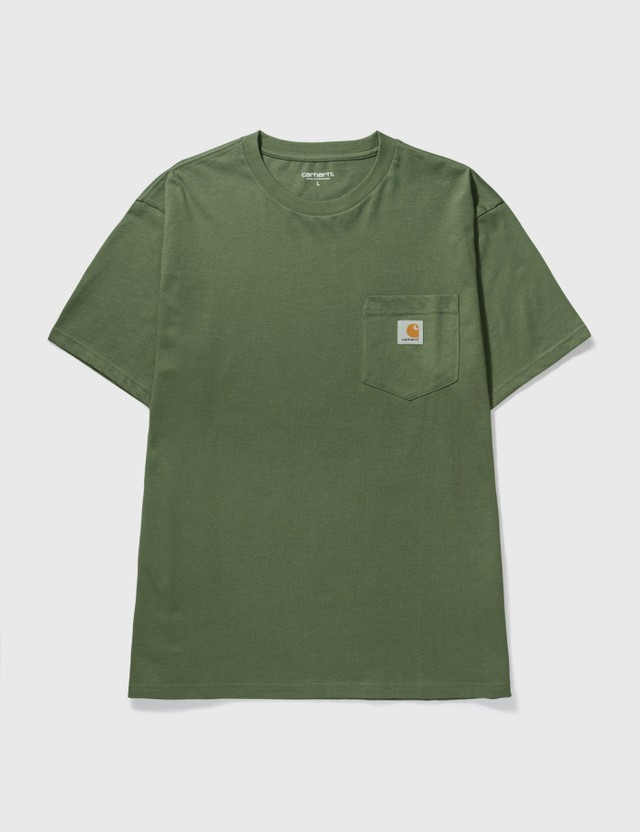 Carhartt Work In Progress Pocket T-shirt Dollar Green Men