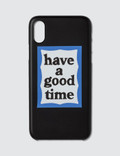 Have A Good Time Blue Frame Iphone Case For Iphone X Picture