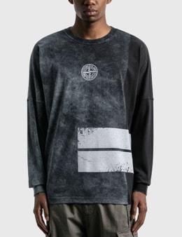 Stone Island Dust One Logo Long Sleeve T-Shirt