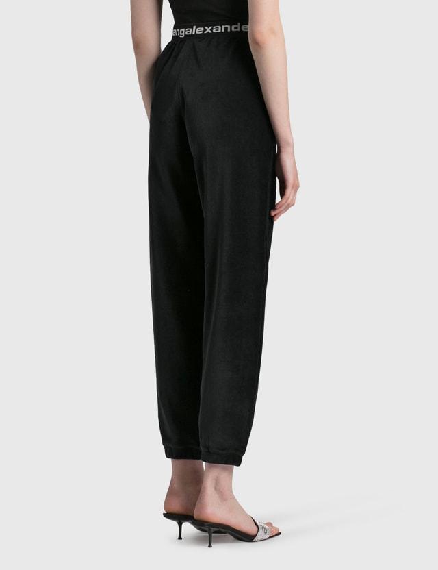Alexander Wang.T Stretch Corduroy Pants Black Women