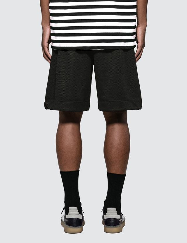 Champion Reverse Weave Script Logo Mesh Shorts