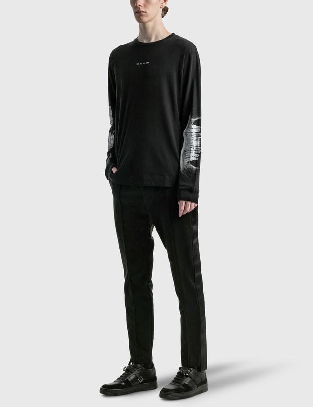 1017 ALYX 9SM Triple Print Long Sleeve T-shirt Black Men