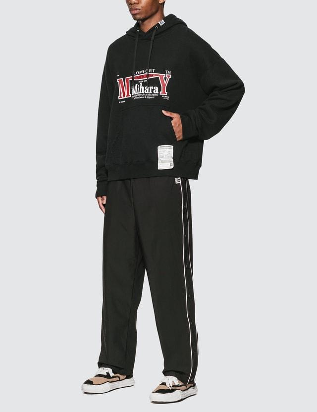 Maison Mihara Yasuhiro Layer Wide Pants Black Men