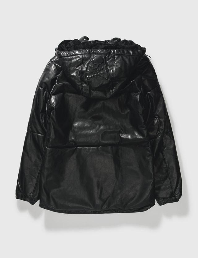 Mastermind Japan Mastermind Japan Serenade Horse Leather Down Jacket Black Archives