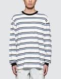 Alexander Wang Lightweight Twist Striped L/S T-Shirt Picture