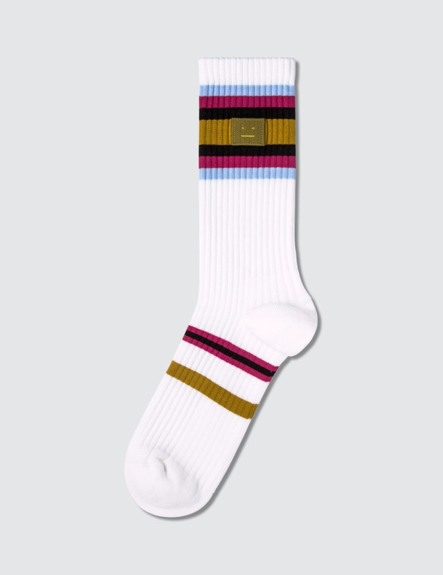 Acne Studios Face Socks