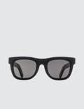 Super By Retrosuperfuture Ciccio Black Sunglasses Picture