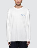 Polar Skate Co. Orchid Fill Logo L/S T-Shirt Picture