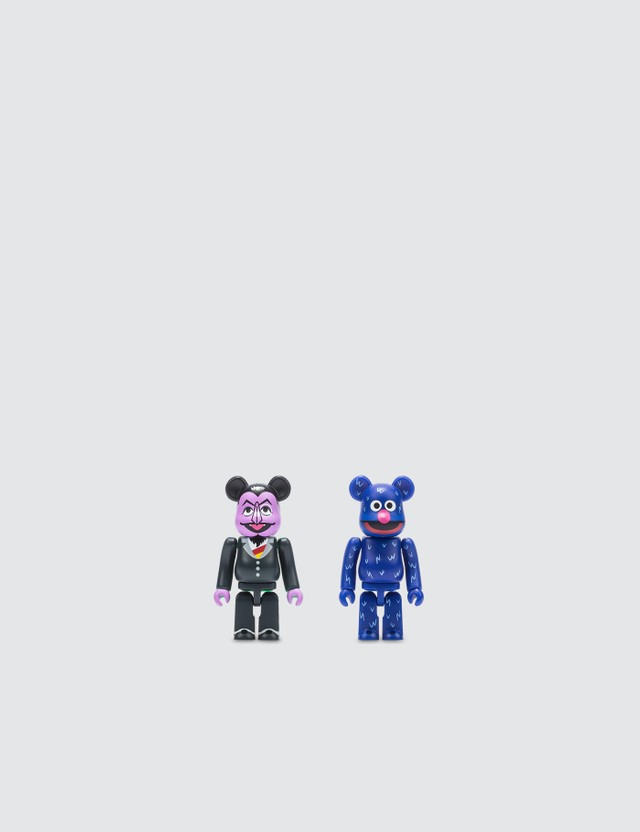 Medicom Toy Be@rbrick 100% Count Von Count & Grover 2 Pack