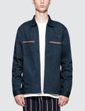 Stussy Full Zip Work L/S Shirt Picture