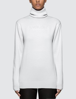 Ambush Turtle Neck Embossed Knit