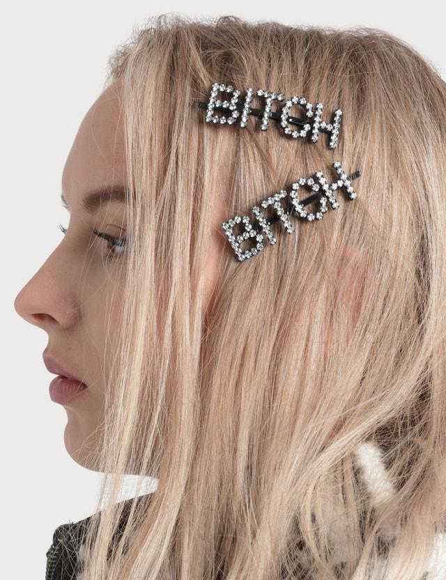 Ashley Williams BITCH Hair Clip
