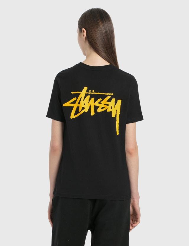 Stussy Classic Stock T-Shirt Black Women