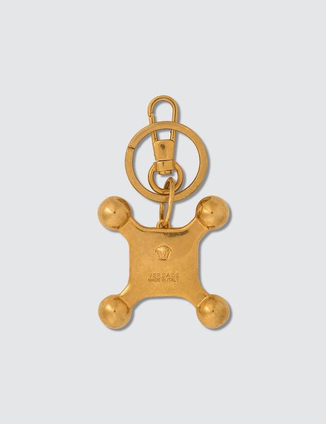 Versace Hot Button Key Chain