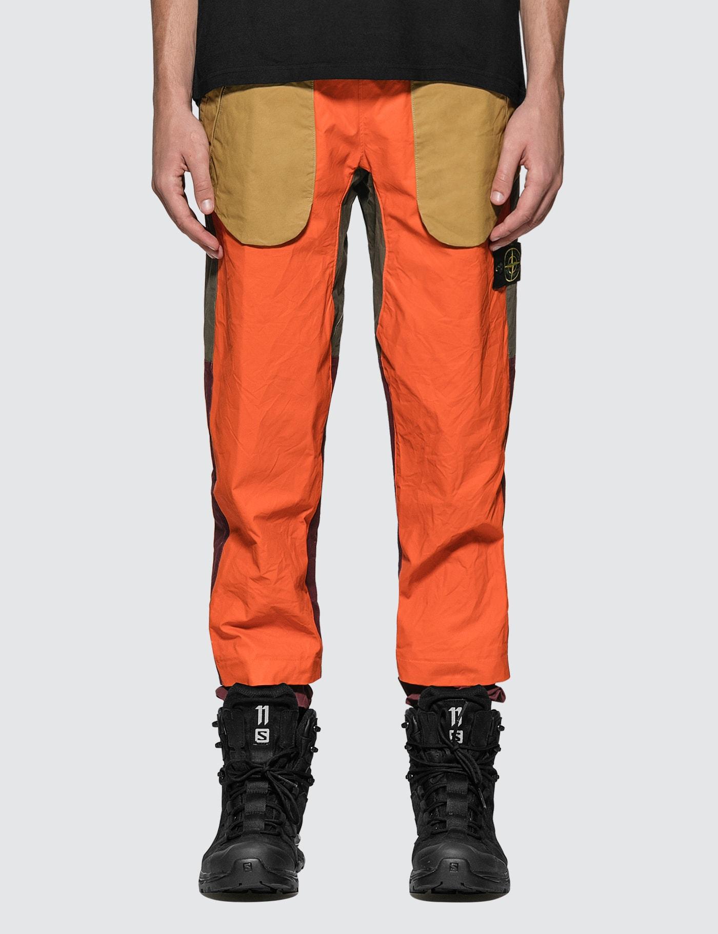 Tela Placcata Bicolore Pants