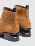 Alexander Wang Kori Stretch Ochre Suede Boots