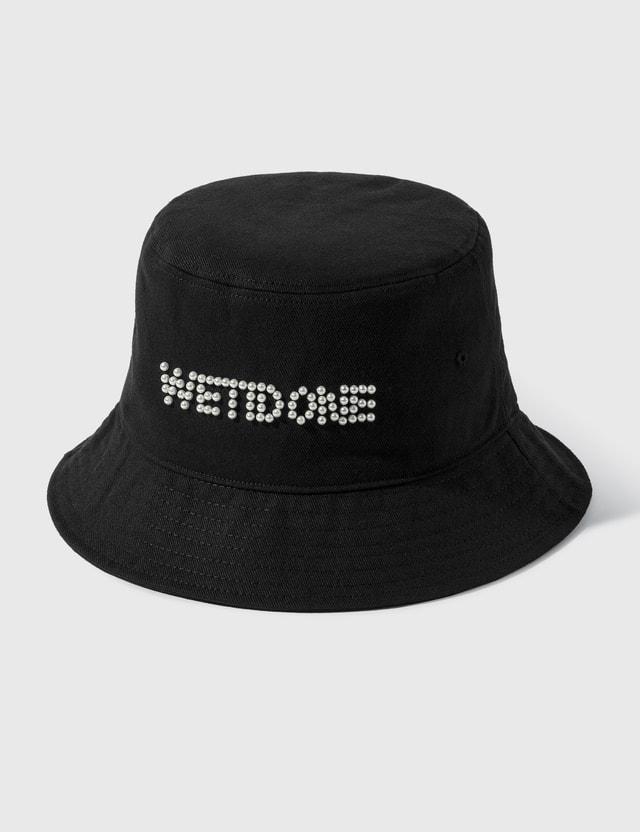 We11done Pearl Logo Bucket Hat