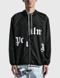 Palm Angels Broken Logo Windbreaker Jacket Picutre