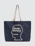 Brain Dead Logo Tote Bag Picture