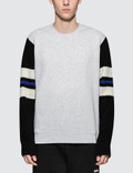 MSGM Sweatshirt with Stripe Picture