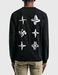 Stone Island Back Logo Long Sleeve T-Shirt Black Men