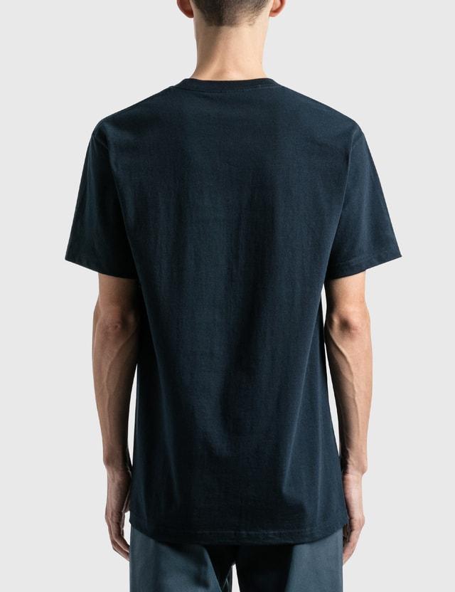 Lo-Fi Bubbles T-Shirt Navy Men