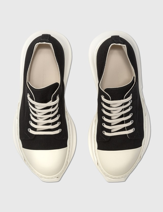 Rick Owens Drkshdw Abstract Low Cut Sneaker