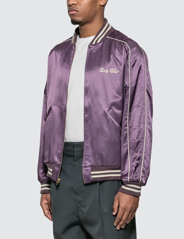 Human Made Varsity Satin Jacket