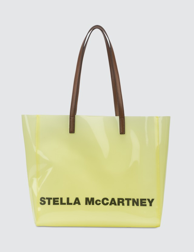 Stella McCartney Clear Logo Tote Bag
