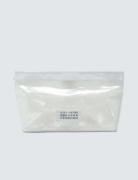메종 마르지엘라 Maison Margiela Transparent Clutch Bag