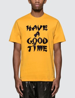 Have A Good Time Karate Logo T-Shirt