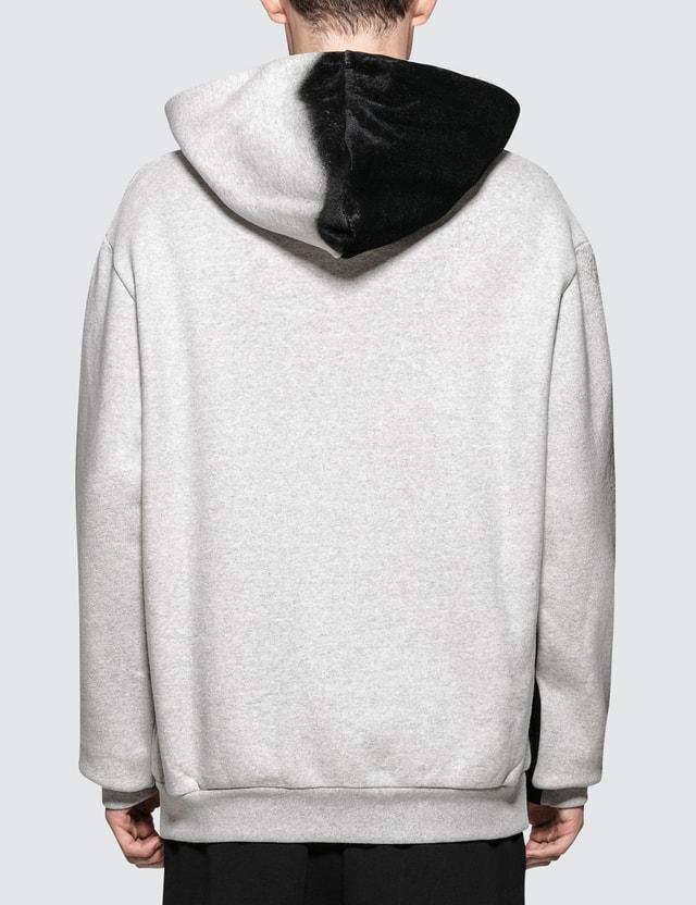 Maison Margiela Black Effect On Grey Hoodie