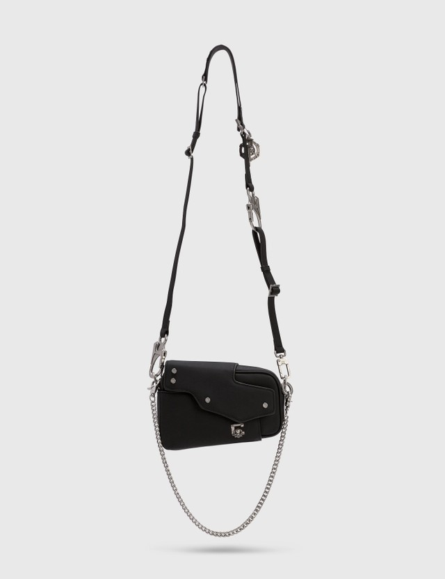 "C2H4 Los Angeles C2H4® x Mastermind Japan ""Filtered Reality"" Nebula Mini Leather Shoulder Bag"