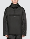 Prada Padded Nylon Hooded Drawstring Jacket Picture