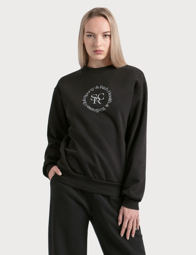 Sporty & Rich SRWC Logo Sweatshirt