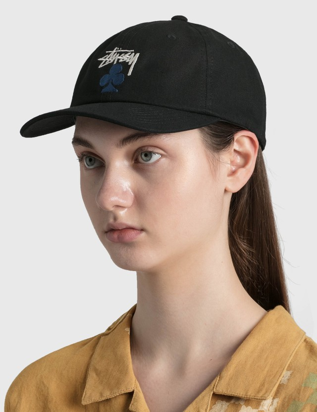 Stussy Stock Club Low Pro Cap Black Women