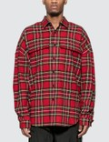 Mastermind World Embroidered Logo Tartan Check Shirt Picture