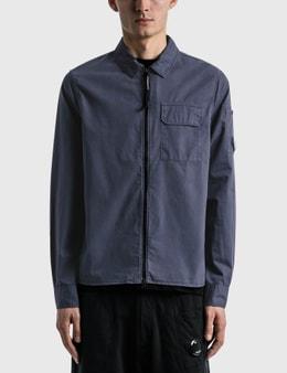 CP Company Gabardine Garment Dyed Utility Shirt