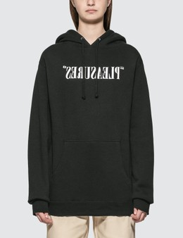 Pleasures Flipped Logo Hoody