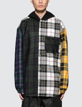 Alexander Wang Multi Plaid Overshirt with Hood Picture